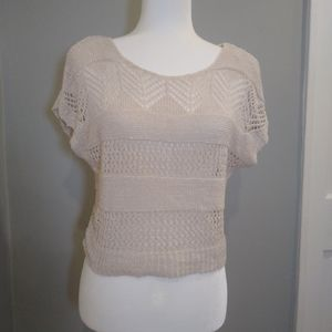 Jessica Simpson XS knit shirt Cap sleeves